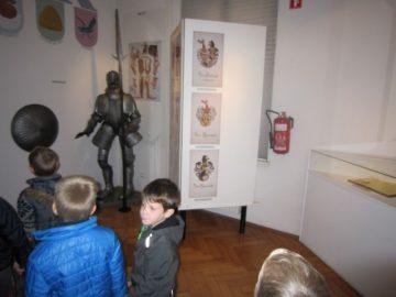 """Otroci skupine """"Cicibani"""" obiskali muzej v Ljutomeru"""