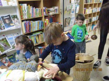 Obisk knjižnice in knjigobežnice